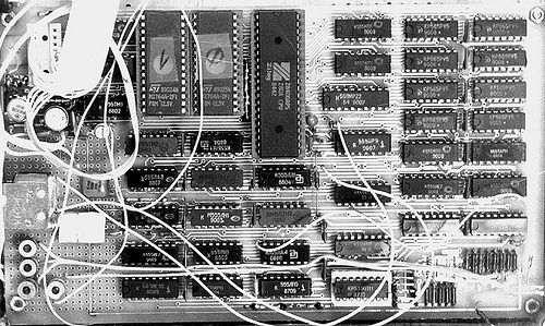 zx-spectrum circut board