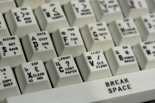 zx-spectrum russian keyboard